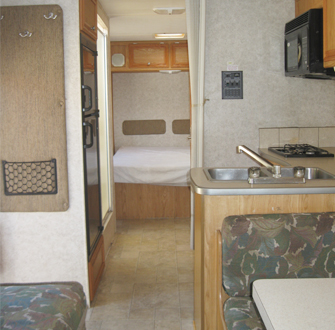 RV Kitchen Area